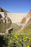 Roosevelt Dam in Spring Stock Photo