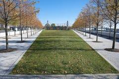 Roosevelt Four Freedoms park, New York City Stock Photos