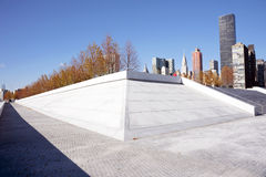 Roosevelt Four Freedoms park, New York City Royalty Free Stock Photo