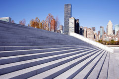 Roosevelt Four Freedoms park, New York City Stock Images