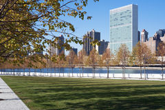 Roosevelt Four Freedoms park, New York City Royalty Free Stock Images