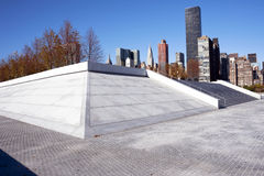 Roosevelt Four Freedoms park, New York City Royalty Free Stock Image