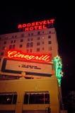 Roosevelt Hotel Los Angeles Stock Photo
