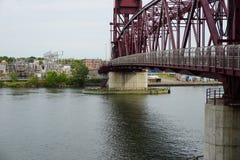 The Roosevelt Island Bridge 21 Royalty Free Stock Photography