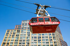 Roosevelt Island cable car Royalty Free Stock Photos
