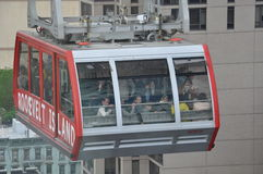 Roosevelt Island cable tram car in New York City Royalty Free Stock Image