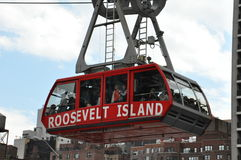 Roosevelt Island cable tram car in New York City Royalty Free Stock Photos