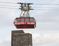 Roosevelt Island cable tram car Royalty Free Stock Photo