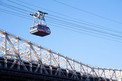 Roosevelt Island cable tram Royalty Free Stock Image