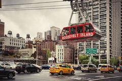 Roosevelt Island cable tram Royalty Free Stock Photo