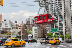 Roosevelt Island cable tram Stock Photography