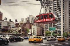 Roosevelt Island kabelspårvagn Royaltyfri Foto