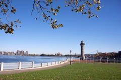 Roosevelt Island Lighthouse, New York City Stock Image