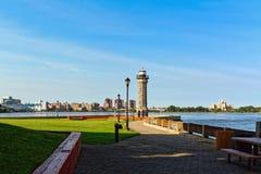 Roosevelt Island lighthouse,New York, USA Royalty Free Stock Photo