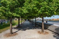 Roosevelt Island, New York stock photo