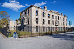 Roosevelt Island Ruins Stock Photography