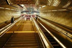 Roosevelt Island Subway, New York -7 fotografia stock libera da diritti