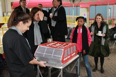 Roosevelt Island tram cake Stock Photos