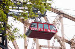 Roosevelt Island Tramway Royalty-vrije Stock Afbeelding
