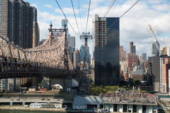 Roosevelt Island Tramway Royalty Free Stock Photo
