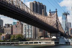 Roosevelt Island Tramway Stock Photo