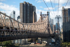 Roosevelt Island Tramway Royalty Free Stock Photography