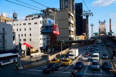 Roosevelt Island Tramway in New York City Stock Photos