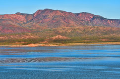 Roosevelt Lake Stock Photo