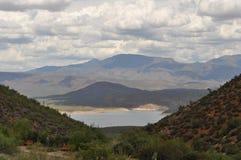 Roosevelt Lake in Arizona Lizenzfreie Stockfotos