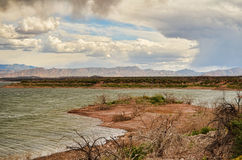 Roosevelt Lake Storm Stock Photos