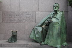 Roosevelt memorial. Franklin Delano Roosevelt Memorial in Washington, DC Stock Photography