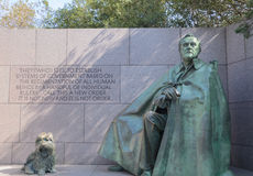 Roosevelt Memorial Stock Images