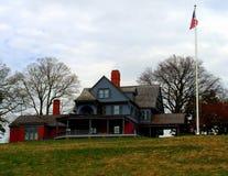 Roosevelt Presidential Estate Lizenzfreie Stockbilder