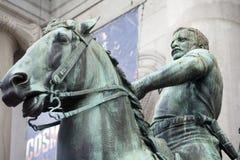 roosevelt staty theodore royaltyfri fotografi