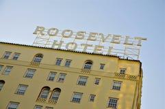 Roosevelten, Hollywood royaltyfri bild