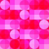 Rooskleurige onduidelijke beelden vector illustratie