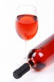 Rooskleurige wijn Royalty-vrije Stock Foto