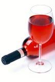 Rooskleurige wijn Royalty-vrije Stock Foto's