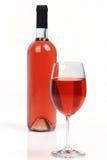 Rooskleurige wijn Stock Foto's