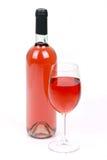 Rooskleurige wijn royalty-vrije stock afbeelding