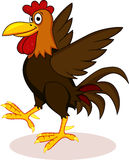 Rooster cartoon Royalty Free Stock Photography