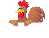 Rooster cartoon Royalty Free Stock Photos
