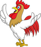 Rooster cartoon Stock Photos