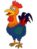Rooster cartoon Stock Image