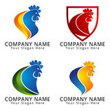 Rooster Chicken Head Concept Logo Logo Royalty Free Stock Images