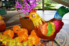 Rooster Decoration Royalty Free Stock Photography