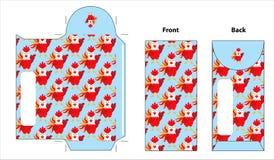 Rooster envelope. This is rooster envelope design. file vector illustration