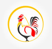 Rooster icon Stock Photography