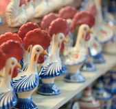 Rooster idols Royalty Free Stock Photography