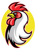 Rooster mascot Stock Photography